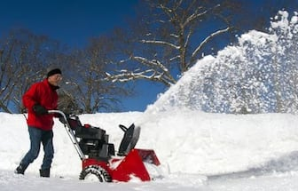 Free removal of any unwanted gas snowblower