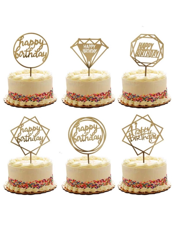 Used Happy Birthday Cake Toppers For Sale In Plano