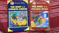 The Hunt for the Curious Cheese and Golden Book books Winnipeg, R3W 0G8