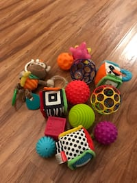 $5 or best offer assorted baby toys  Mission Viejo, 92691