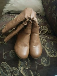 pair of brown leather boots Stockton, 95205