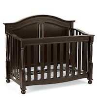 Baby crib w conversion kit
