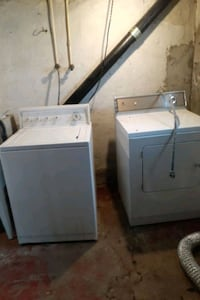 Washing machine and dryer working pickup only