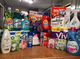 Tide laundry and household items