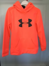red Under Armour pullover hoodie Surrey