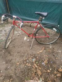 1969 schwinn 10 speed bicycle antique needs back tire has been painted