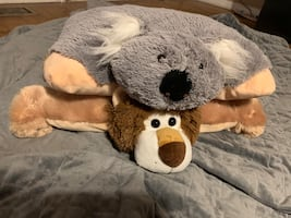 Pillow pets lion and koala. 10 for both