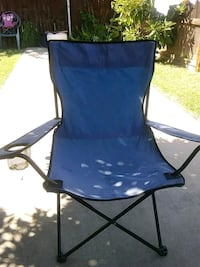 blue and black camping chair Fresno, 93702