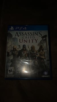 Assassin's Creed Unity PS4 game case Laurel, 20708