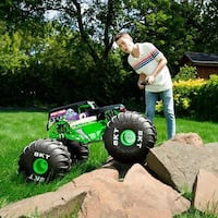 Mega Grave Digger with Remote Control