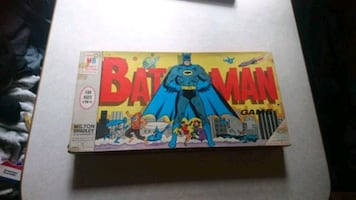 Two boarx games from the 60's batman and GIJoe