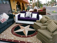 LIKE NEW GREAT CONDITION WITH 6 PCS PILLOWS LIKE N