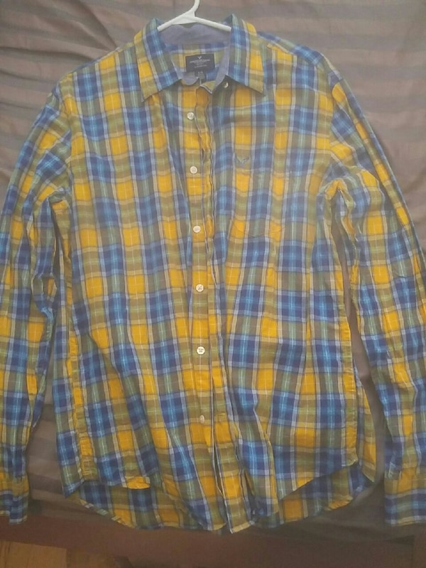 L American Eagle button down