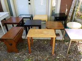 Tables / Side tables/ assorted