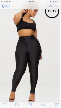 Women's black leggings Laurel, 20724