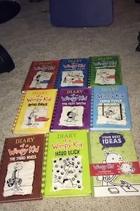 Diary of a wimpy kid series 9 in total great condition  Hamilton, L9A 5K3