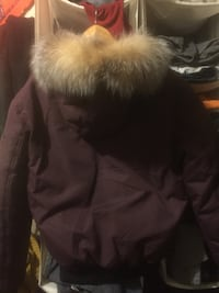 Gorgeous Men's Pajar Down filled fur collar winter jacket. Vancouver, V6A 1G9