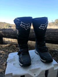 pair of black-and-white mx boots San Diego, 92124
