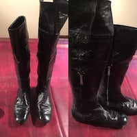 Pair of black high knee boots Guess Edmonton, T5A 4X2