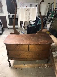 Vintage dresser/wash table project piece Madison, 39110