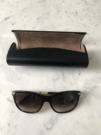 Brown Burberry sunglasses used  Toronto, M1T 3L4