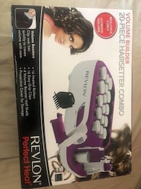Black and purple conair hair setting box Riverside, 92507