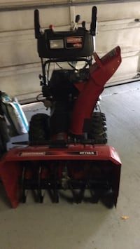 Craftsman snowblower used maybe 6 times. Very good condition Calgary, T2A 4G6