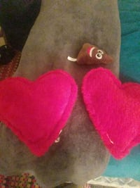 red and white heart plush toy Amarillo, 79101