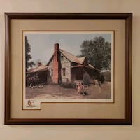 """Mel Steele Signed/Numbered Print """"Spring Cleaning"""" Greensboro, 27406"""