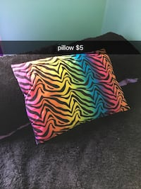 multicolored throw pillow 466 mi