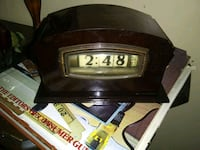 Reduced to $50 , Electric ART DECO Clock  MANCHESTER