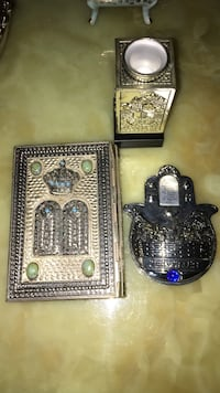 Vintage antique collectible Jewish Tanakh , hamsa all Sterling silver fully hallmarked best offer all beautiful condition  Coconut Creek, 33063