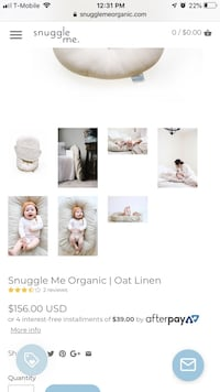 Infant Snuggle Me Organic Lounger Mansfield, 76063