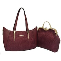 women's red leather tote bag Pickering, L1W 4B9