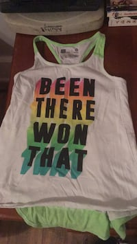 white and green tank top Boonville, 47601