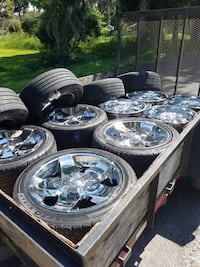 20in rims and tires  Tampa, 33604