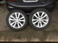 5x114 rims and tires (just 2 rims)