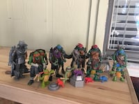 TMNT character action figure collection Garland, 75041