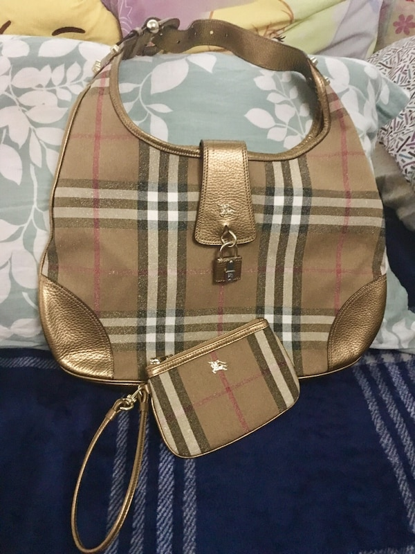 82f11f294af4 Used Authentic Burberry bag and wallet for sale in San Jose - letgo