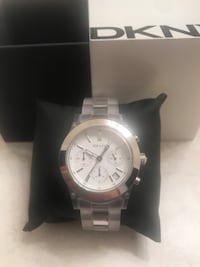 Silver Face and Clear/Transparent DKNY Watch Kitchener, N2H 0G5