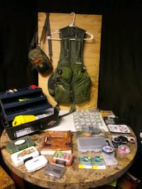 **Fly Fishing Vest & Tackle **