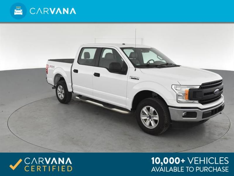 2018 Ford F150 SuperCrew Cab pickup XL Pickup 4D 5 1/2 ft White 0ce72851-75f3-4a17-8a66-986f66429d0d