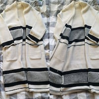 gray and black striped sweater Calgary, T3C 3X6