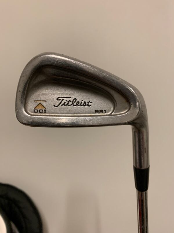 Titleist 981 Irons.  0