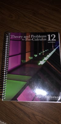 Theory and problems for Pre-Calculus 12  North Vancouver, V7N 4M9