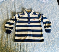 Great condition Carters 3T sweatshirt Sterling, 20164
