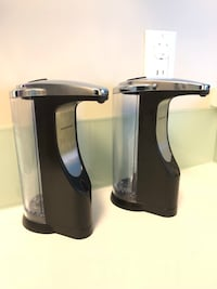 Simplehuman automatic Soap dispenser ( battery powered ) Vancouver, V5S 2Y2