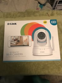 D-Link HD pan and tilt wifi camera