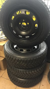 """15"""" Toyota Corolla winter rims and snow tires"""