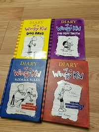 Diary of a Wimpy Kid (4 books) Potomac, 20854